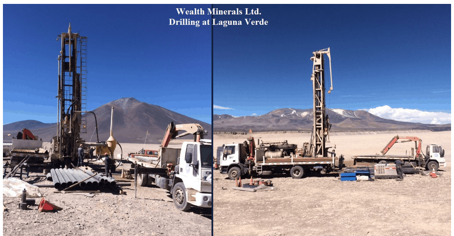 WML.V: Wealth Minerals Provides Operational Update