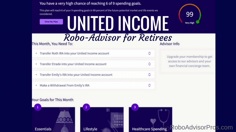 United Income Review – Robo-Advisor for Retirees Only