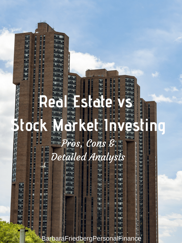 Real estate vs stock market investing. Find out which is best and how to do both, for little money.