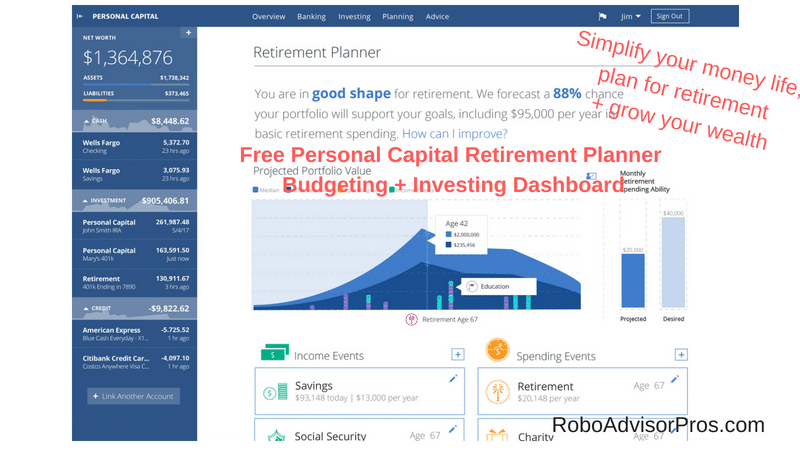 Personal Capital Review- Why You Must Sign Up for Personal Capital – 2018