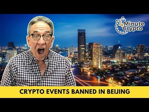Hosting Crypto Events Banned in Beijing