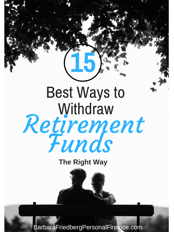 best ways to withdraw retirement funds - couple walking in sunset