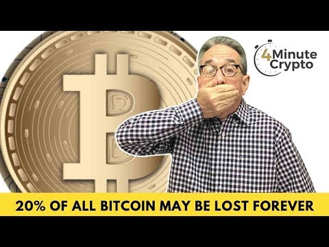 20% Of All Bitcoin May Be Lost Forever