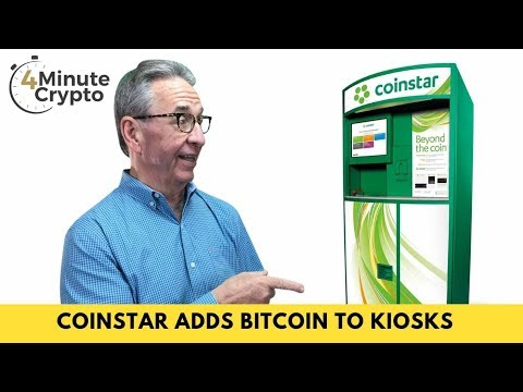 Coinstar Launches Bitcoin To Grocery Store Kiosks