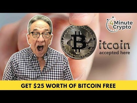 Get $25 Worth Of Bitcoin Free