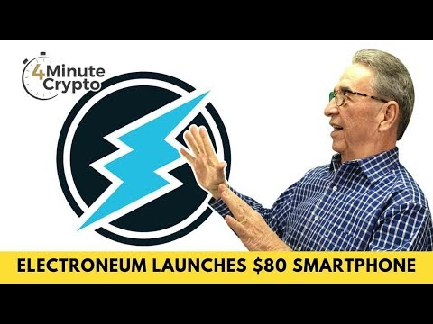 Electroneum Launches An $80 Smartphone