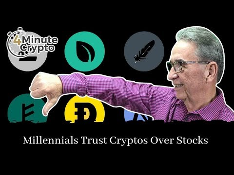 Millennial Investors Trust Crypto Exchanges More Than Stock Exchanges