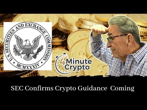 SEC Commissioner Confirms Guidance on Crypto Tokens Is Coming