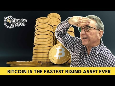Bitcoin Is The Fastest Rising Value Asset Ever