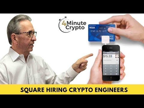 Square Hiring Crypto Engineers & Paying Them in Bitcoin