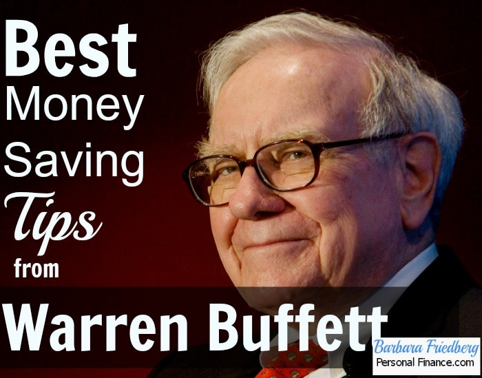 8 Saving Money Tips From Warren Buffett