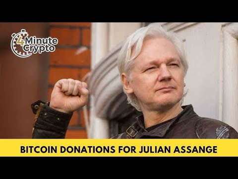 Bitcoin Donations Pour In For Julian Assange