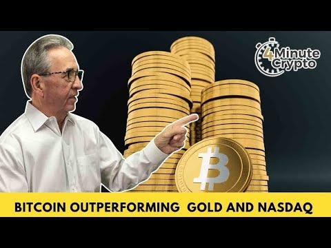 Bitcoin Is Outperforming gold, NASDAQ, and the S&P 500