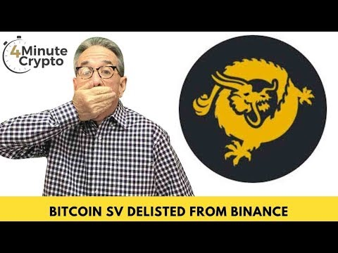 Bitcoin SV Delisted from Binance