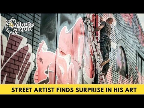 Crypto Street Artist Finds Generous Surprise in his Street Art