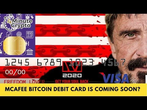 McAfee Bitcoin Debit Card Is Coming Soon?