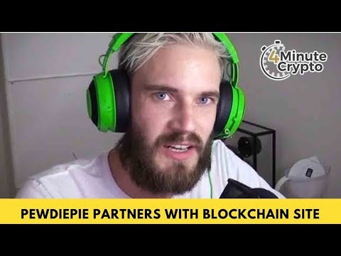 PewDiePie Partners With Blockchain Platform
