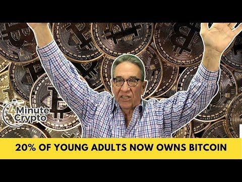 20% of Young Adults Now Own Bitcoin
