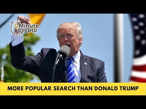 Bitcoin Is a More Popular Search Term Than Donald Trump