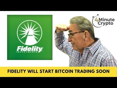 Fidelity Will Start Bitcoin Trading Within Weeks