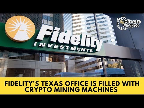 Fidelity's Texas Office Is Filled With Crypto Mining Machines