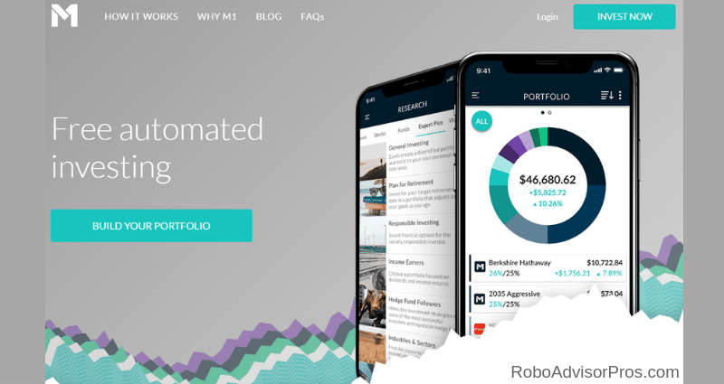 M1 Finance returns_ best robo advisor returns