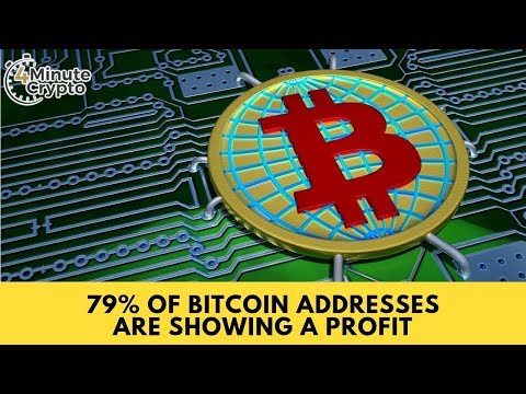 79% of Bitcoin Addresses Are Showing A Profit