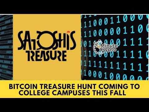 Bitcoin Treasure Hunt Coming to College Campuses This Fall