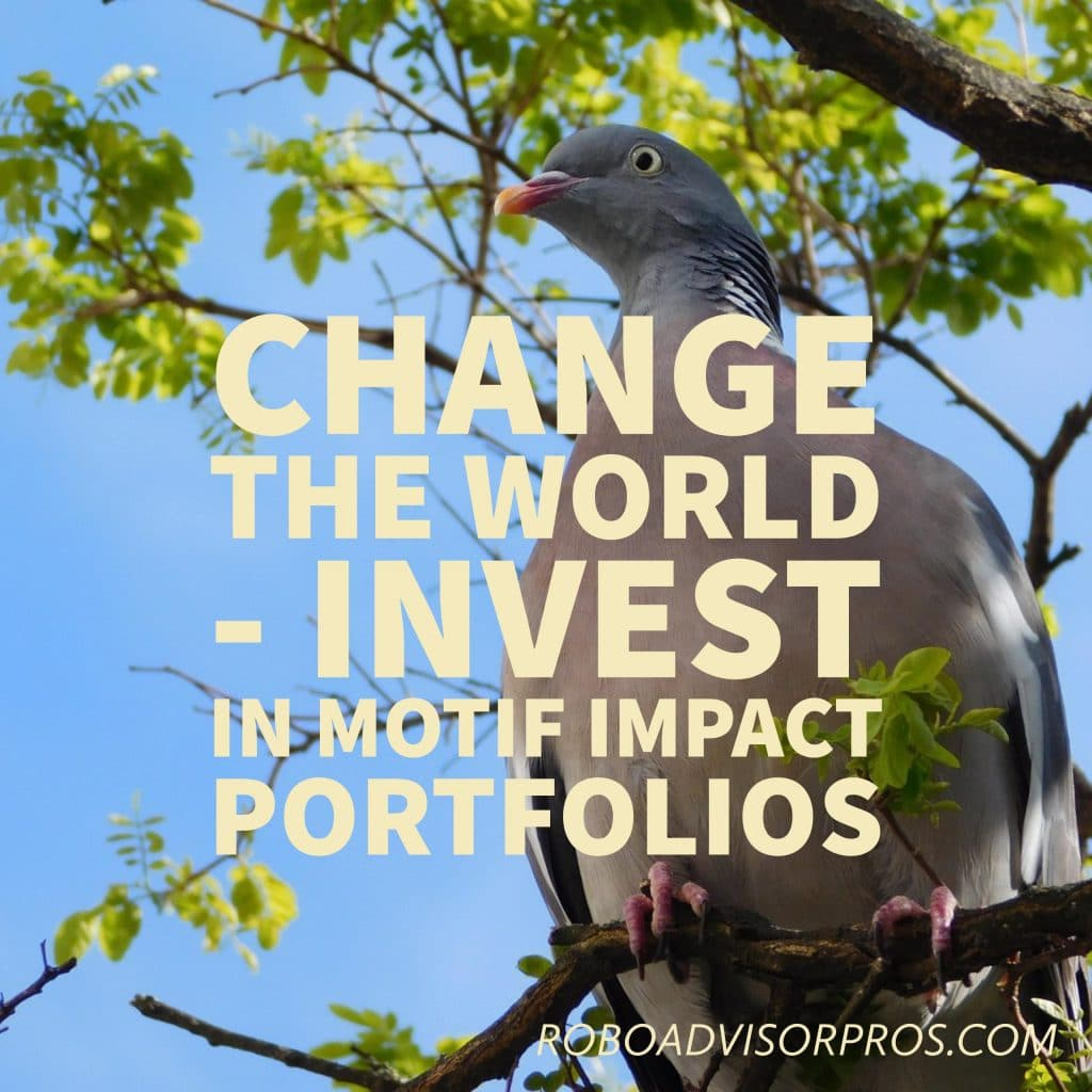 Motif Impact Investing Review-Change the World with this Robo-Advisor