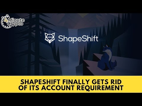ShapeShift Finally Gets Rid Of Its Account Requirement
