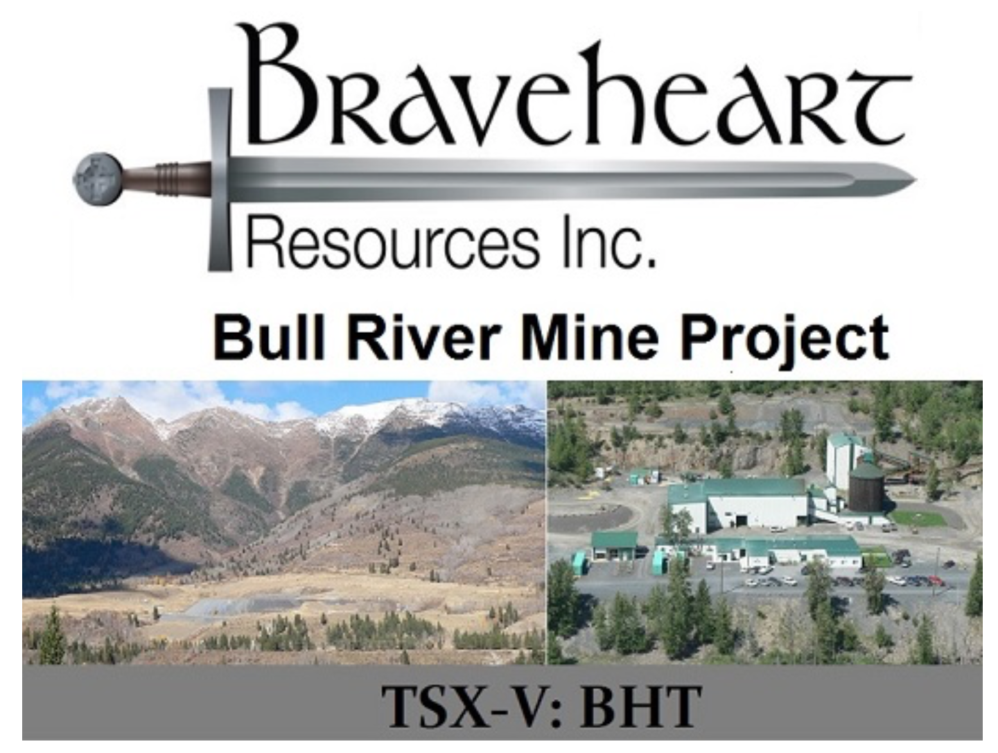 BHT.V: Update on Progress at Bull River Mine of Braveheart Resources