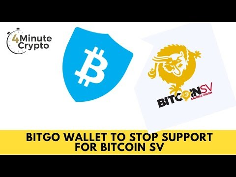 BitGo Wallet to Stop Support For Bitcoin SV