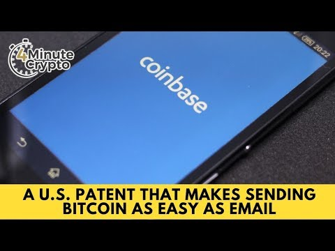 U.S. Patent Makes Sending Bitcoin Easy As Email
