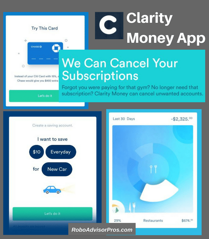 Clarity Money Review – Free Financial Concierge App