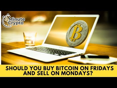 Should you Buy Bitcoin on Fridays and Sell on Mondays?