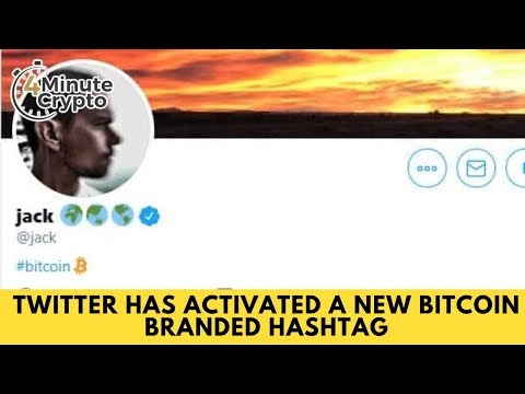Twitter Has Activated A New Bitcoin Branded Hashtag