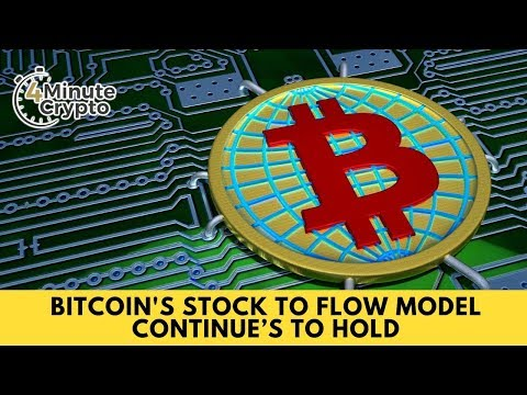 Bitcoin's Stock to Flow Model Continue's to Hold