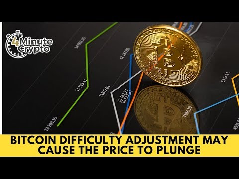 Difficulty Adjustment May Cause the Bitcoin Price to Plunge