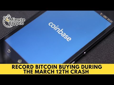 Record Bitcoin Buying During The March 12th Crash