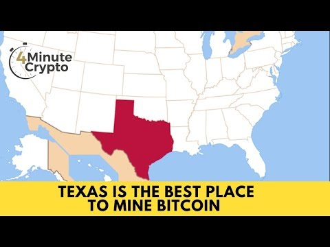 Texas Is the Best Place to Mine Bitcoin