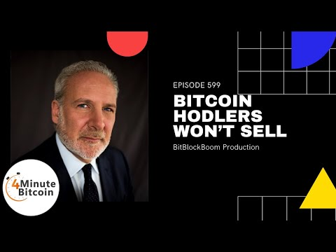 Bitcoin HODLers Won't Sell