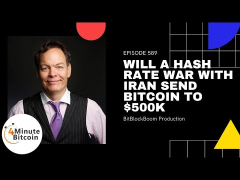 Will A Hash Rate War With Iran Send Bitcoin to $500K