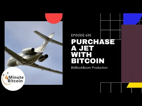Purchase A Private Jet With Bitcoin