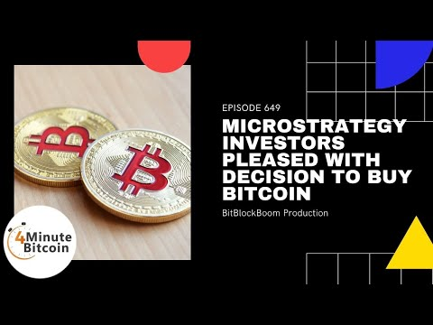 MicroStrategy Investors Pleased with Decision to Buy Bitcoin