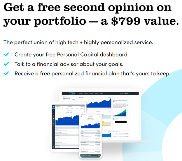 personal capital free portfolio review offer