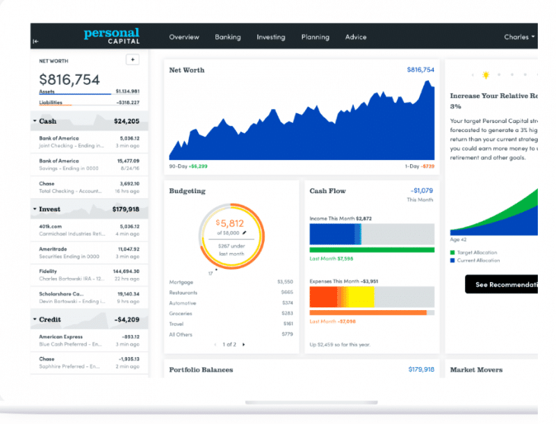 Personal Capital vs. Mint vs. Quicken Review – Which Financial App is Best