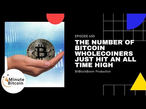 The Number Of Bitcoin Wholecoiners Just Hit An All-Time High