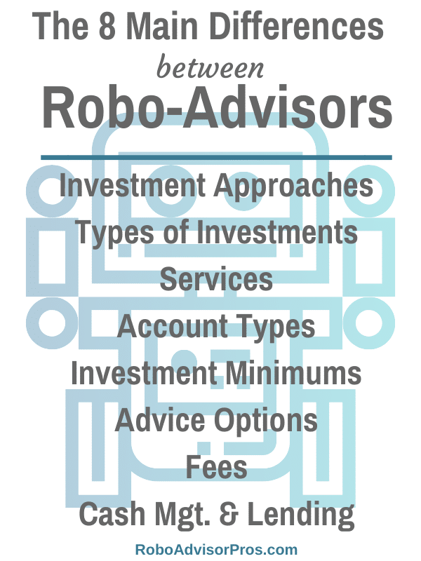 What are the 8 Major Differences Between Robo-Advisors?