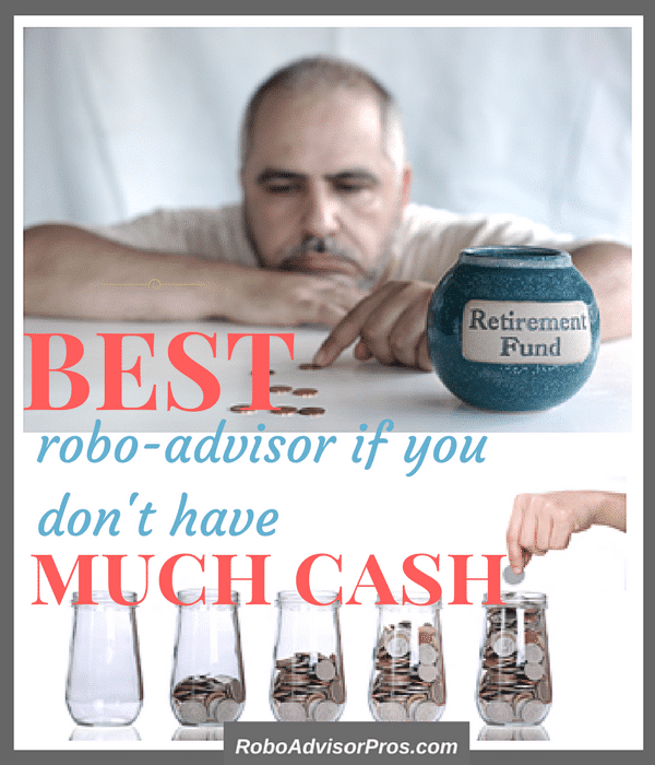 You can afford to start investing today with these 4 low investment minimum robo-advisors.